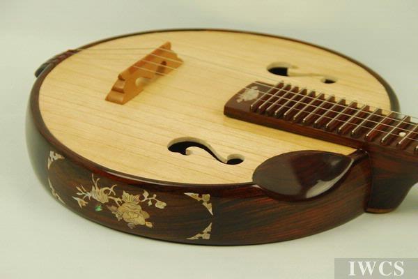 中国传统木乐器弹拨系列之《阮》
