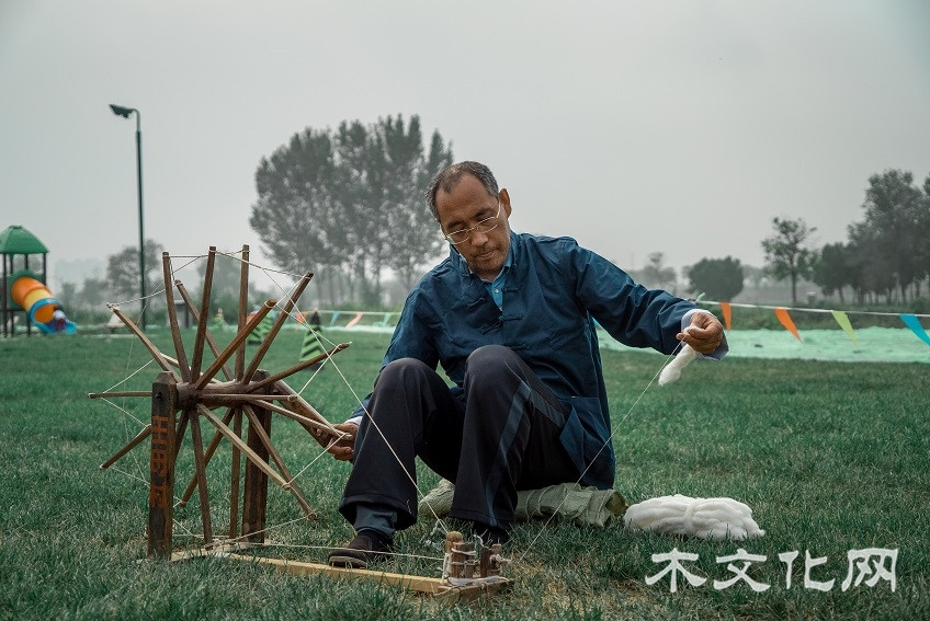 威县土布纺织技艺——第十代传人高庆海