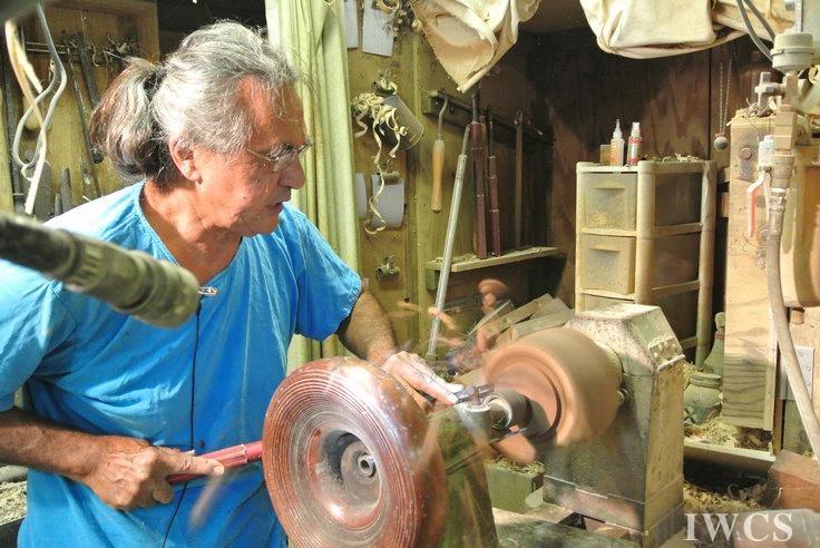 探索人与木材和谐相处之道——采访夏威夷当代木旋艺术家Pat Kramer先生