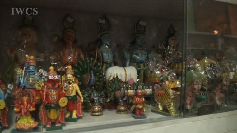 木艺木趣:参观印度卡纳塔卡邦木作工艺品商店