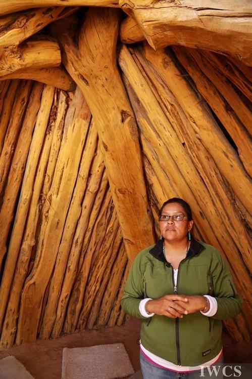 印第安人传统住宅——Hogan(泥盖木屋)