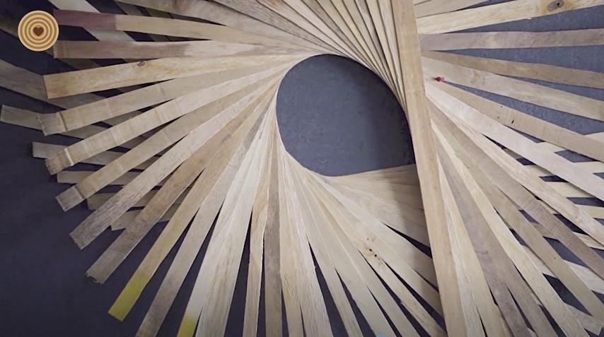木板条万花筒——Barbara Holmes的木设计
